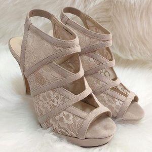 Nine West Laced Stiletto Heels